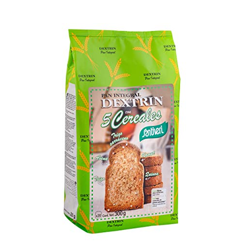 SANTIVERI Pan Dextrin con Cereales, No Aplicable, 20