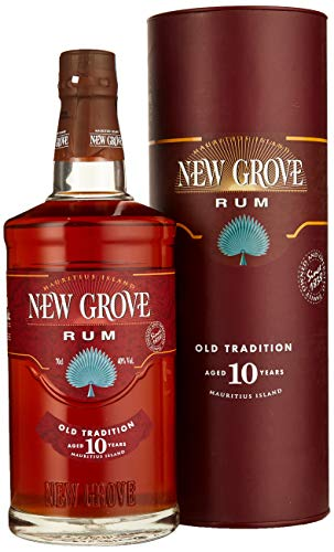 New Grove OLD TRADITION 10 Years Old Mauritius Island Rum (1 x 0.7 l)