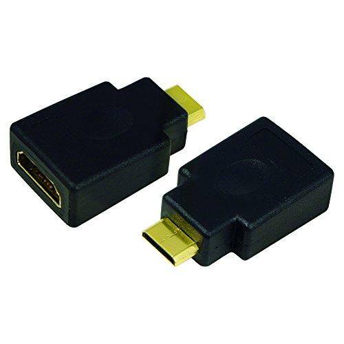 Logilink Adattatore da HDMI a Mini HDMI C F/M, Nero