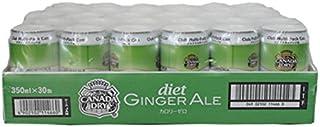 Canada Dry Diet Ginger Ale カナダドライダイエットジンジャーエール カロリーゼロ 350mlx30缶