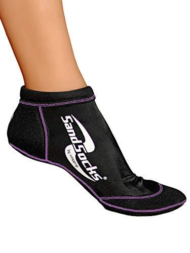 Sand Socks Vincere Sprite Low-Top XS Black/Lavender Stitch