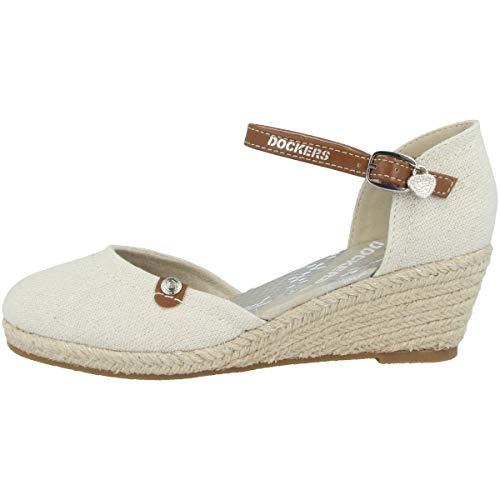 Dockers by Gerli 36is210-400 Sandals Women Beige - 8.5 - Sandals Shoes