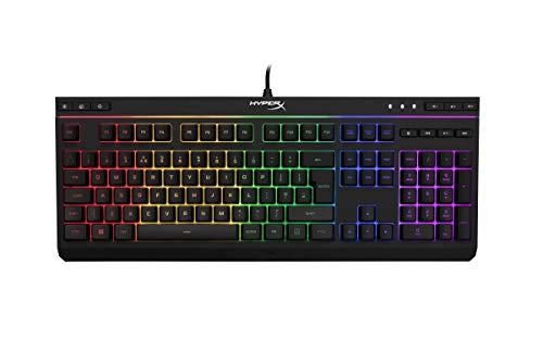 HyperX Alloy Core RGB Membrane Gaming Keyboard (QWERTY UK Layout) (English Keyboard HX-KB5ME2-UK)