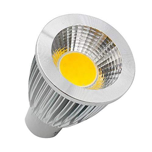 Glühbirne110V 220V Gu10 Gu5.3 E27 Dimmbare Cob LED-Scheinwerferlampe 3W 5W 7W 9W 12W 15W Aluminium-Dimm-LED-Scheinwerfer, kaltweiß, 15W Gu5 3