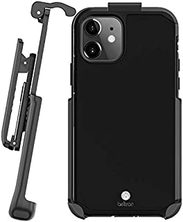 Case with Belt Clip for iPhone 11, Slim Full Body Protection Heavy Duty Hybrid Case & Rotating Belt Clip Holster with Built in Kickstand for iPhone 11 6.1 inch (Black)