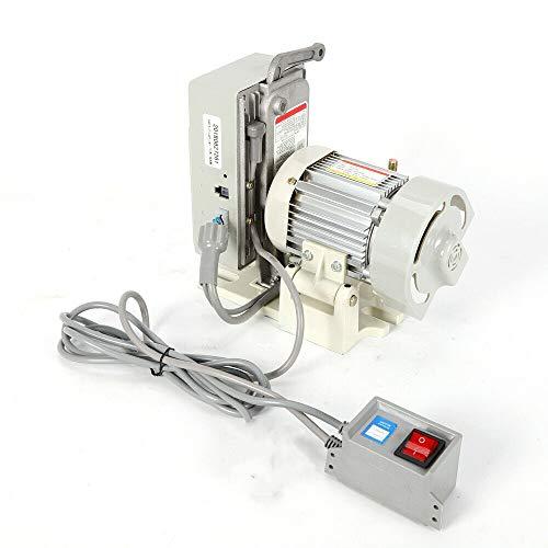 OUKANING Servomotor de Ahorro de energía para máquina de Coser Industrial con Motor de Embrague 600W