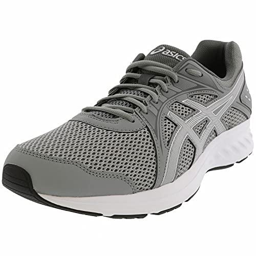 ASICS Men's Jolt 2 Running Shoes, 11, Stone Grey/Steel Grey