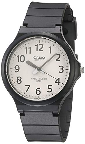Casio Men's 'Easy To Read' Quartz Black Casual Watch (Model: MW240-7BV)