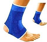 V&AMYA 2 Cavigliere Elastiche, Supporto per slogature e distorsioni, cavigliera Sportiva p...