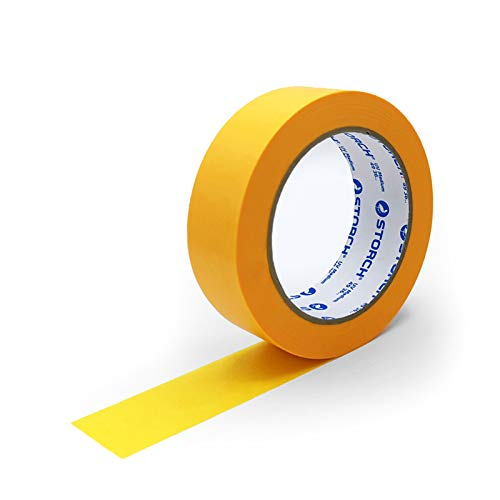 Storch SUNNYpaper Malerkreppband Klebeband - DAS GOLDENE UV MEDIUM 30 mm x 50 m (10 Stück)