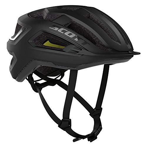 Scott 275192 - Casco de Bicicleta Unisex para Adulto, Color Negro