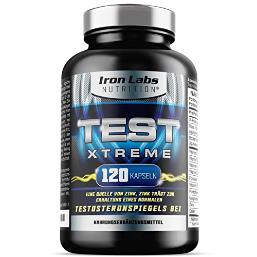 Iron Labs Nutrition -  Test Xtreme® -