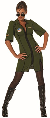 Damen Kostüm Jetpilot Pilotin Army Soldatin Karneval Fasching Gr.40