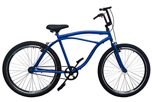 Novo Bicicleta Caiçara Rocket Aço ARBL **INQUEBRÁVEL** AZUL (quadro reforçado,raios grossos e aros aero)…