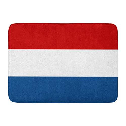 Zome Lag Badmat Deurmat Badkamer Tapijt Entree Mat Nederland Nederlandse Vlag Nauwkeurigheid Nauwkeurige Amsterdam Kleur Juiste Badkamer Decor Tapijt Badmat 60x40cm