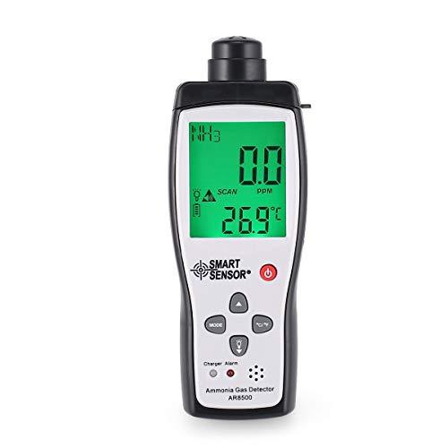 Luftqualitätsmonitor Messgerät Ammoniak Temperatur Gas Detector Analyzer Tester von Gugutogo