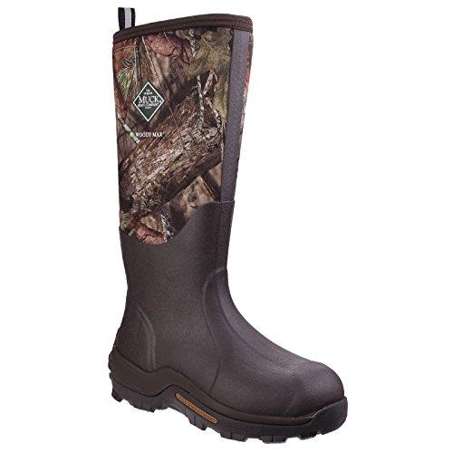 Muck Boots Unisex Woody Max Cold-Conditions Hunting Stiefel (38 EU) (Braun mit wäldlichem Muster)