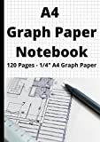 A4 1/4' Graph Paper Notebook: Graph Paper Notebook, A4, Engineering, Design, Architecture, 3D Model, Graphing, Drawing