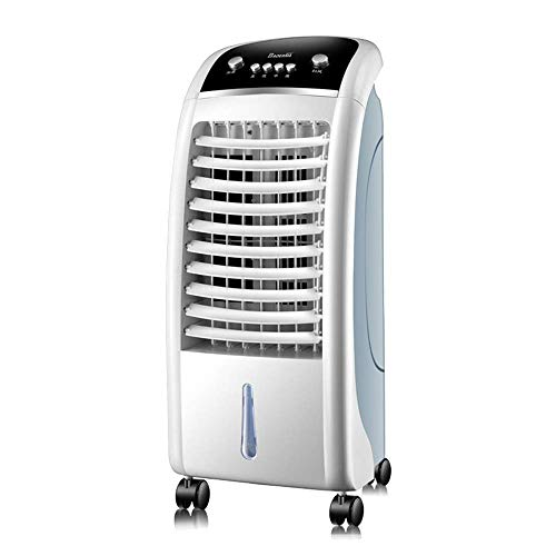 Air Conditioner, Mobile, Without Hose Air Cooler with Remote Control Cold Humidification Timer Evaporator Water Tank - 65W