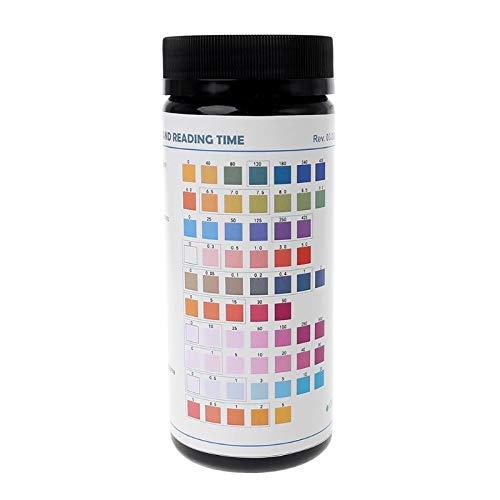 SSB-PHJI, Wassertest Pool Trinkwasser Qualitätstester Gesamtalkalität pH Härte Eisen Kupfer Blei Nitrat Nitrit Fluorid Rest