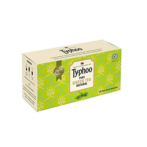 Typhoo Pure Natural Green Tea Bags, 100 Bags