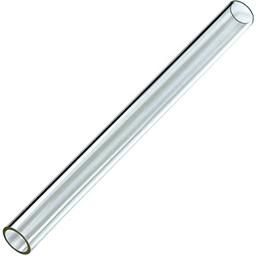 """Pack of 10 Glass Tube Pyrex Glass Tubes 12 mm OD 2 mm Thick Wall Tubing,12"""" Long"""
