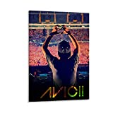 Avicii Music Album Poster Poster dekorative Malerei