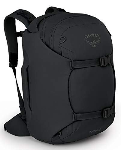 Osprey Porter 30 Travel Backpack, Black, One Size