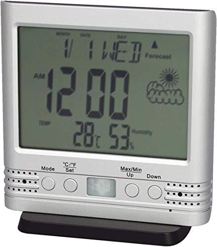 デジタル時計型ビデオカメラ PIRセンサーで無人録画!5日間待機可能HS-400FHD