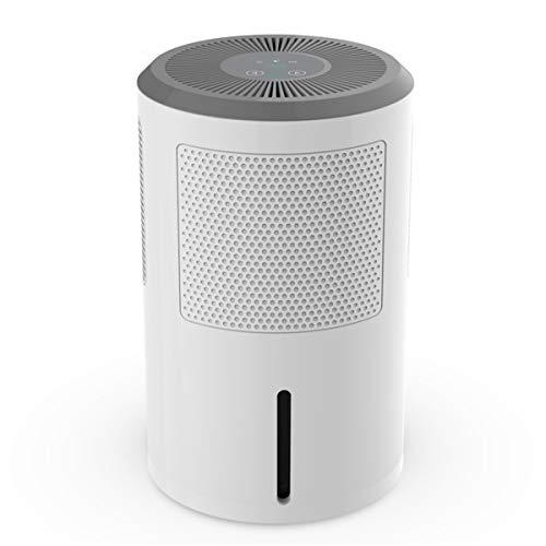 SSCYHT Kleiner Luftentfeuchter, extrem leiser Luftentfeuchter mit automatischer Abschaltung, 750 ml Luftreinigertrockner für zu Hause, einstellbare Luftfeuchtigkeit