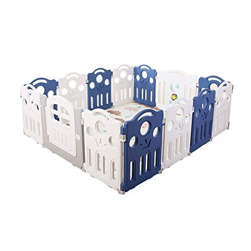 Buy Discount SISHUINIANHUA Baby Play Fence, Multi-Purpose Children's Activity Room Total 14 Panelpor...