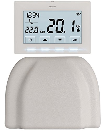 Perry 1TXCR028WIFIKIT Cronotermostato Wireless Smartbox, Bia