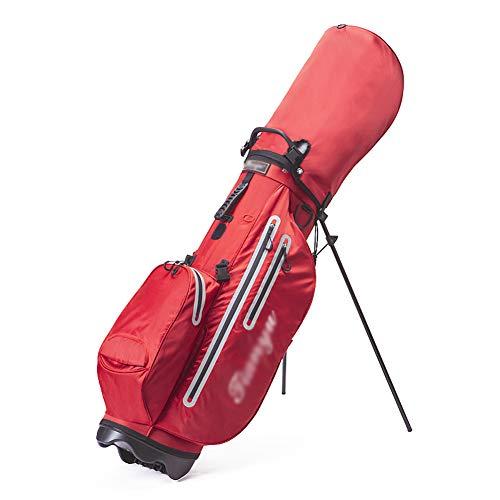 Bolsa de Golf, Golf Club Stand Carry Bag Ligera Impermeable para Unisex, Capacidad para 13 Palos de Golf, para Campos de Golf y Viajes