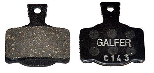 GALFER Plaquettes De Frein Magura Mt2, Mt4, Mt6, Mt8, MTS Noir STD vélo G1053 Adulte Unisexe, Taille Unique