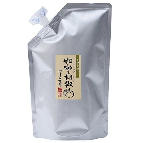 川津食品 川津家謹製 粒柚子胡椒 青 1Kg [4162]