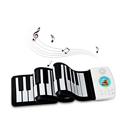 Best Review Of Portable 49-Key Electronic Piano Keyboard, Natural Silicone, Built-in Tweeter, Lithiu...