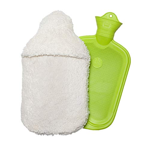 Wärmflasche mit Bezug Plüsch