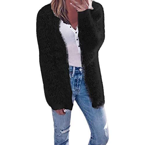 Xinantime Vrouwen Winterjas, Dames Casual Winter Lange Mouw Vest Oversized Effen Warm Zip Up Fluffy Pullover Sweatshirt Bovenkleding