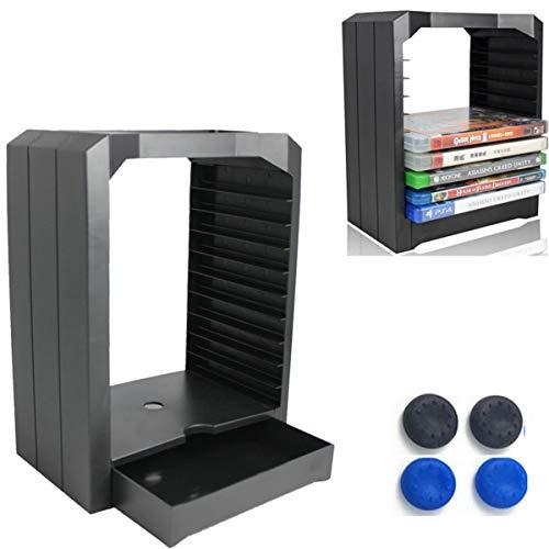 GZ HaiQianXin Gioco Disk Storage Rack 10 Giochi di Plastica Vetrina Torre Porta CD per PS4 Slim Pro Xbox ONE
