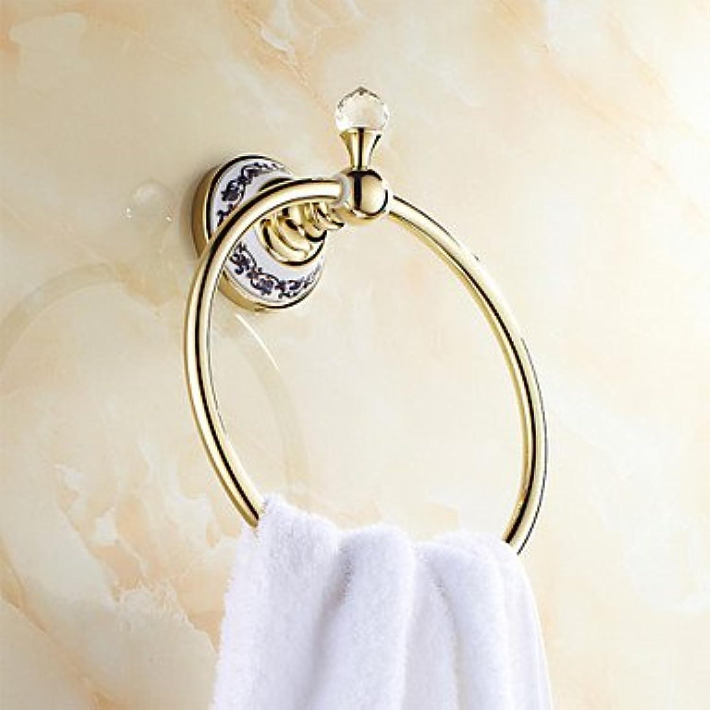 estilo clásico Miaoge neoclásico neoclásico neoclásico ti-PVD montado en la parojo anillos de toalla  ventas en línea de venta