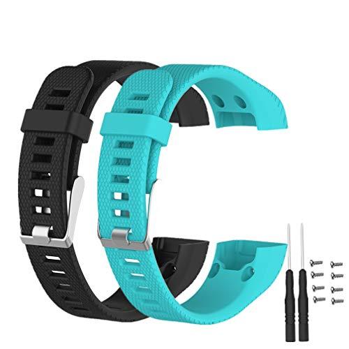 Meiruo Armband für Garmin Vivosmart HR+, Fitness Band für Garmin Vivosmart HR Plus (Colour 6)