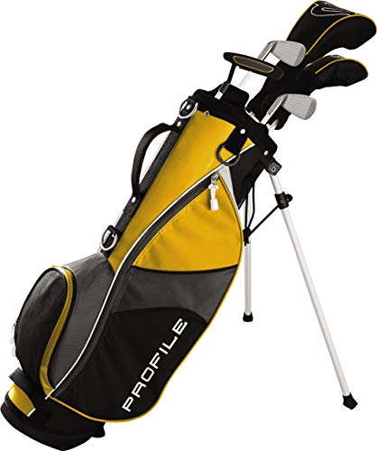 Wilson Golf Profile JGI Junior Complete Golf Set — Medium, Yellow, Right Hand