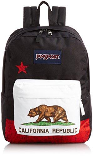 JanSport - Mochila Superbreak, coleção Regional (CA) #T50109P