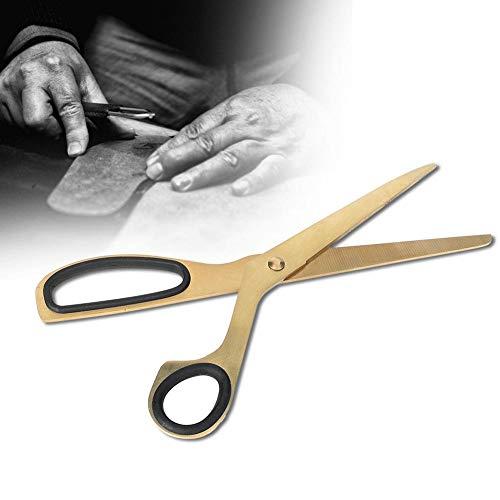 Schöne Farbe Einzigartige goldene Schere, Schere, leichtes Gold und Schwarz für Office Home