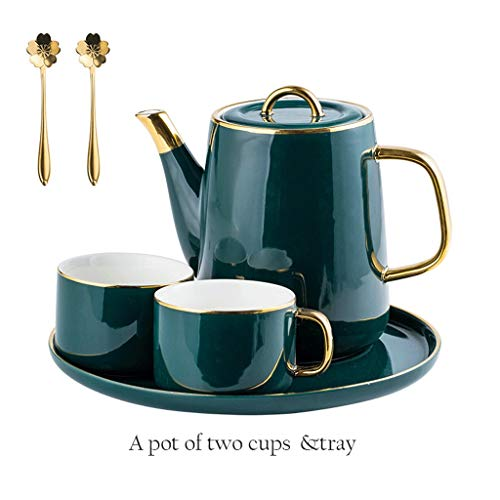 Best Bargain Teapot Coffee pot set Ceramic kettle Coffee Pot Set Ceramic Kettle Teapot (One Pot And ...