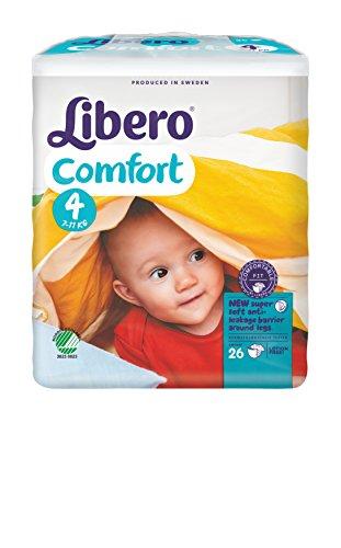 Libero Comfort Maxi Gr. 4, 7 - 11 kg, 1 Karton = 8 x 26 = 208 Stück