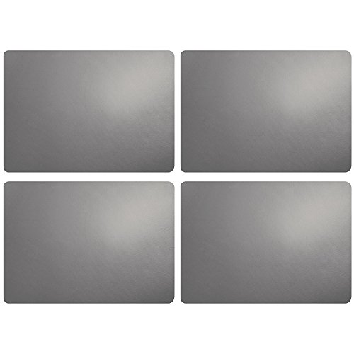 ASA Tischset, Cement 46 x 33 cm, Lederoptik 4 Stück
