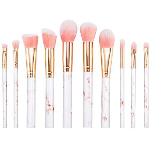 Chakil 1 Motif De Zèbre Set Pinceaux Maquillage Beauté Maquillage Brosse Maquillage pour les yeux/Maquillage des lèvres/Maquillage nu/Blush/Ombre à paupières/Pinceau de Maquillage