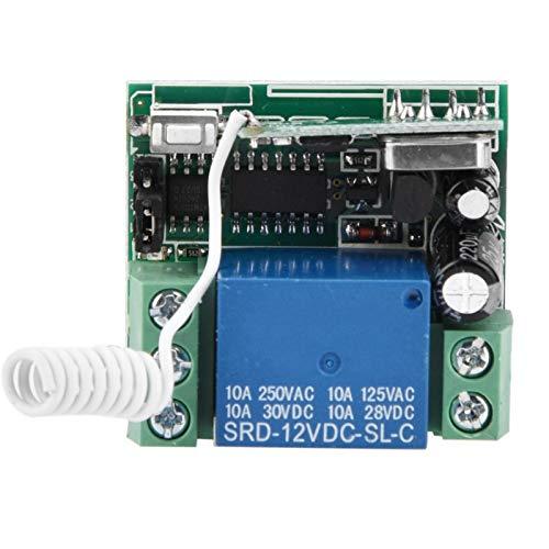 Relé de RF inalámbrico Interruptor de control remoto de alta calidad a estrenar General, para el hogar, para la oficina(1 remote control)