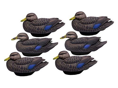Lifetime Decoys FlexFloat Black Duck 6 Pack